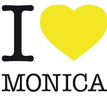 I ♥ MONICA by eyesblau