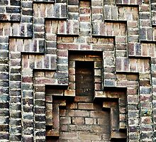 Brick Abstract by Alexandra Lavizzari