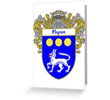 Flynn Coat of Arms/Family Crest Greeting Card