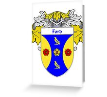 Ford Coat of Arms/Family Crest Greeting Card