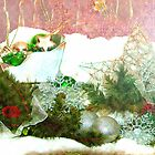 Christmas garland by ♥⊱ B. Randi Bailey
