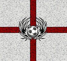 English - England Football iPad Cover by iArt Designs