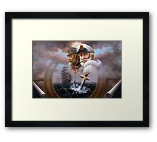 Sea Captain 4 Framed Print