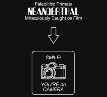 Neanderthal Caught on Film by Samuel Sheats