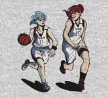 Basketball Girlfriends by lovelynobody