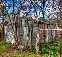 A Country Man Shed by Steve Randall
