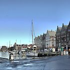Bergen Harbour -- The Morning Coolness by Larry Lingard/Davis