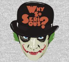 A Clockwork Joker - Serious Droog Kids Clothes