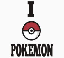 I Love Pokemon Design by bc98