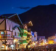 Christmas Festival in Leavenworth by Jim Stiles
