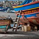 Marsaxlokk (Malta) -- Maintenance Break by Edwin  Catania