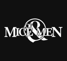 Of Mice & Men logo (WHITE) by MinecraftERR0R