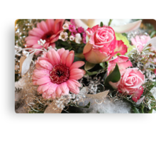 Flowers for Xmas Canvas Print