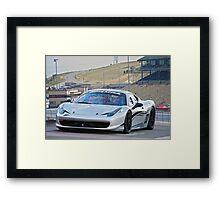 Ferrari 458 Challenge Framed Print