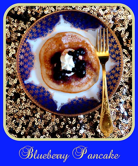 Blueberry Pancake by ©The Creative  Minds