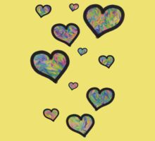 Colourful Hearts Kids Clothes