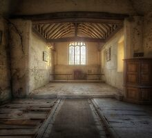 All Saints derelict church in Berners Roding.  by ArthakkerHDR