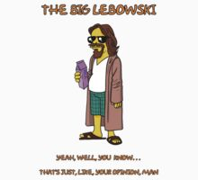The big lebowski simpsonized by KZADesign