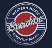 Overdose Western & Country Music  decoration Clothing & Stickers by goodmusic