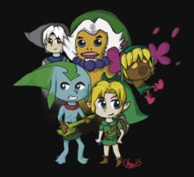 Majora's Mask Chibi Link Transformations by Rainpaw7