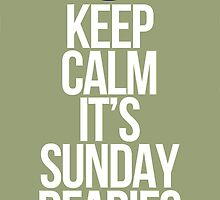 Once Upon a Time | Keep calm it's Sunday dearies! by Alica Price