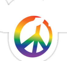 Peace T-shirt in Latin - Pacem Sticker