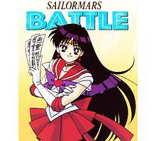 Sailor Moon - Sailor Mars [Battle Card Edition - iPhone] by sandyw5