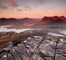 View From Stac Pollaidh at Sunset by Curtis Budden