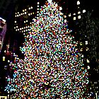 Rockefeller Center, Holiday Tree, NYC, NY-2013 by Ellen Turner