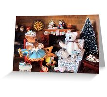 ~ What if we existed just for Christmas, in a breadbox?! ~ Greeting Card