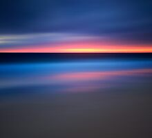 Abstract Sunset Seascape by Katherine Gendreau