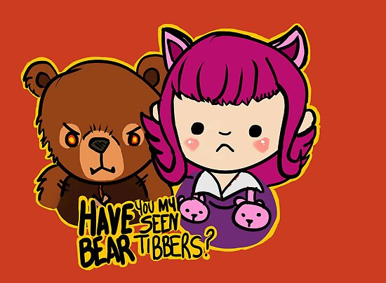 Have you seen my bear Tibbers? by DeePeeIllustr