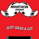 Emergency Moustache Dispenser by NicoWriter