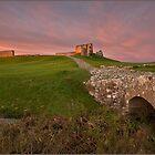 Duffus Castle Bridge by Andrew Watson