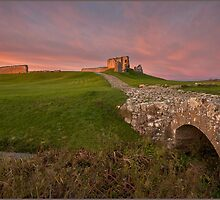 Duffus Castle Bridge by Andrew Watson