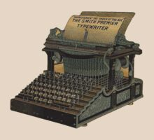 Antique Typewriter by Pixelchicken