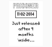 Nine Months Inside Prisoner Date Of Birth by TeeHunter