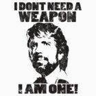Chuck Norris - I Dont Need A Weapon, I Am One by Immortalized