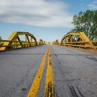 William H. Murray Bridge (a.k.a. Pony) Bridge on Route 66, Geary, OK by swtrekker