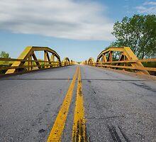 William H. Murray Bridge (a.k.a. Pony) Bridge on Route 66, Geary, OK by swtrekker