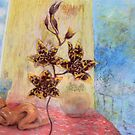 summer orchids by maria paterson