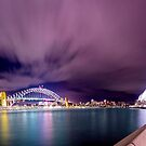 Sydney under lights by Beckon