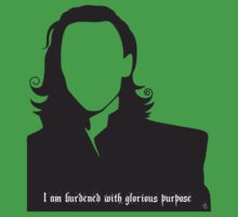 Loki - I am burdened with glorious purpose by GinCherry
