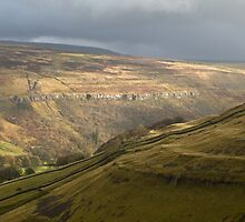 Fells above Arnecliff in Littondale by Nick Jenkins