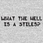 What the hell is a Stiles? by alyg1d