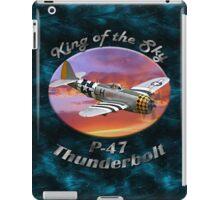 P-47 Thun derbolt King of the Sky iPad Case/Skin