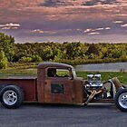 "1935 International Pickup Rat Rod ""Bamfer"" by TeeMack"