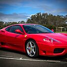 The Red Ferrari by Gerard Rotse