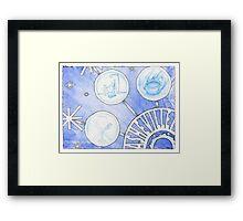 Asheville Snowflake Framed Print