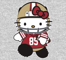 Hello Kitty Loves Vernon Davis & The San Francisco 49ers! by endlessimages